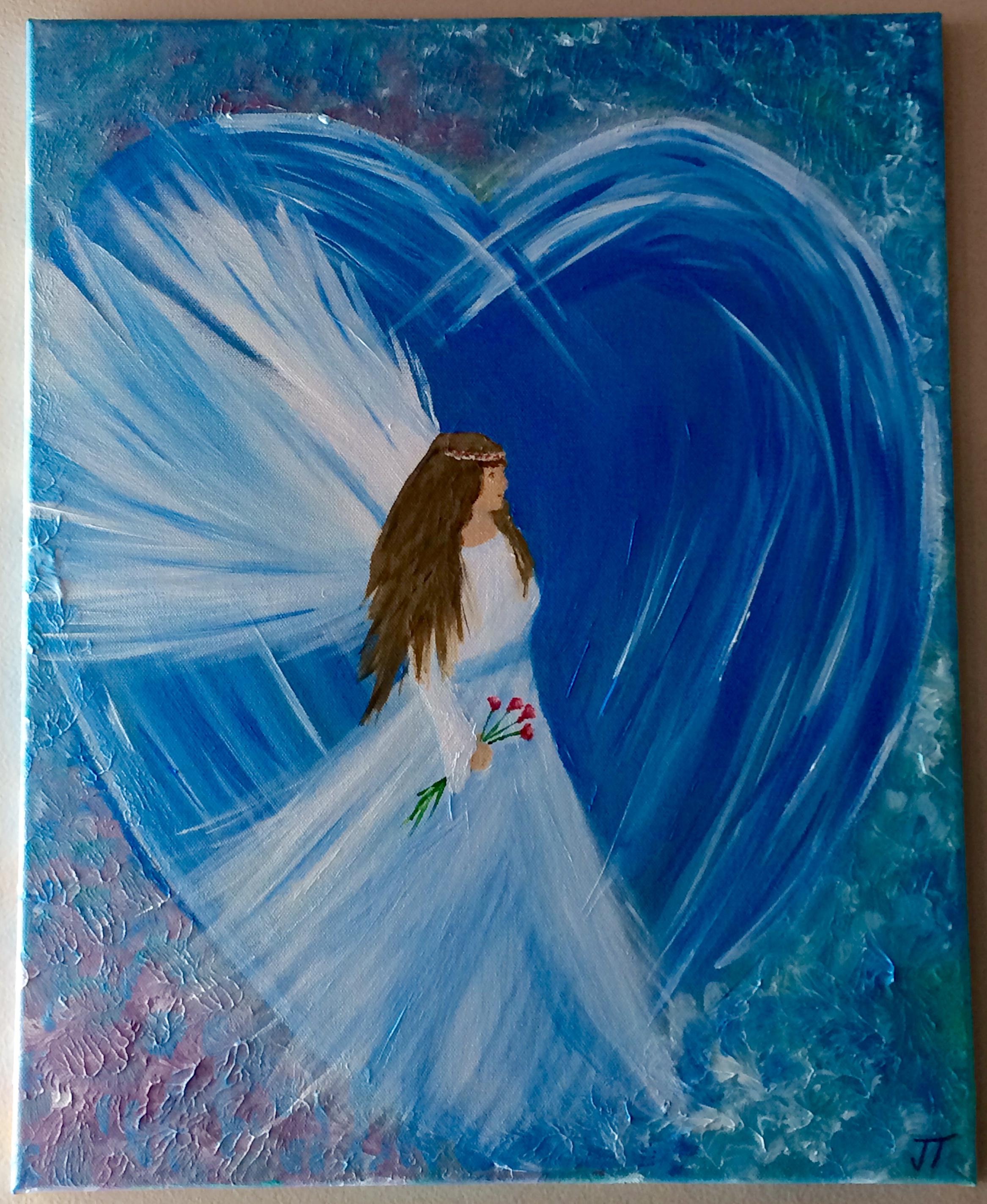 blue angel – janets art planet